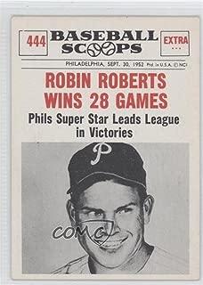 Robin Roberts (Baseball Card) 1961 Nu-Cards Baseball Scoops - [Base] #444