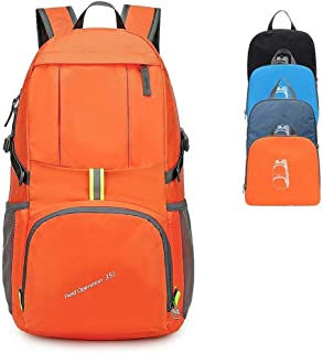 BODATU Lightweight Hiking Backpack Camping Outdoor Backpack Daypack Men Women-Water Resistance Handy Foldable Durable Travel