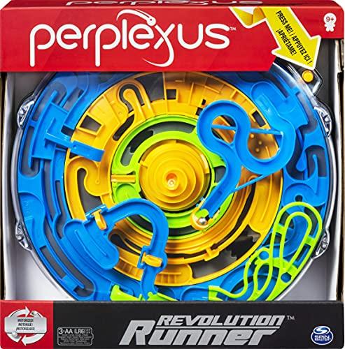Spin Master Games Perplexus Revolution Runner, motorisiertes 3D-Labyrinthspiel mit kontinuierlicher Bewegung, für Kinder ab 9 Jahren