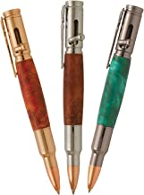 Penn State Industries PKCP7500SS Magnum Bolt Action Ballpoint Pen Kit Starter Package Woodturning Project