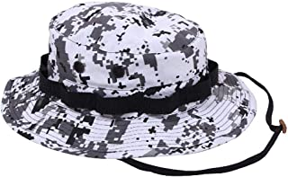 Boonie Hat Wide Brim Military Camo Hunting Camping Bucket Cap
