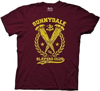 Buffy The Vampire Slayer Sunnydale Slayers Club Adult T-Shirt