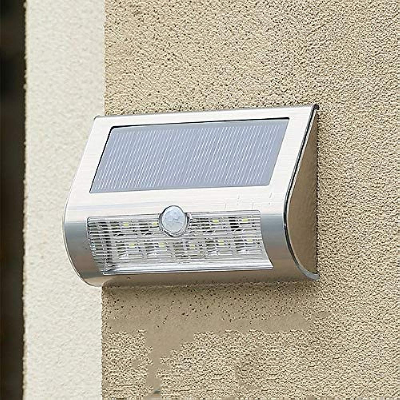 Ehime Auenwandleuchten Anti-Rost-und Anti-Korrosions-Solarlicht Wandleuchte menschlichen Krper Induktion Wandleuchte LED-Wandleuchte im Freien Garten Licht Solartür Licht