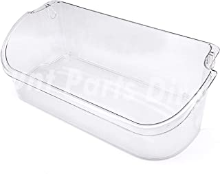240356402 Clear Refrigerator Door Bin Side Shelf for Electrolux and Frigidaire, Upper Slot Replacement Shelf, Gallon Size - Replaces AP2549958, 240430312, 240356416, 240356407, and more