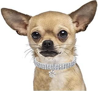 rhinestone dog collar charms