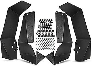 A-Premium UTV Mud Flaps Fender Flares for Polaris RZR-S 900 RZR-4 900 RZR-S 1000 2015-2018 4-PC Set