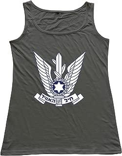 Israeli Air Force Women 100% Cotton Tank Tops