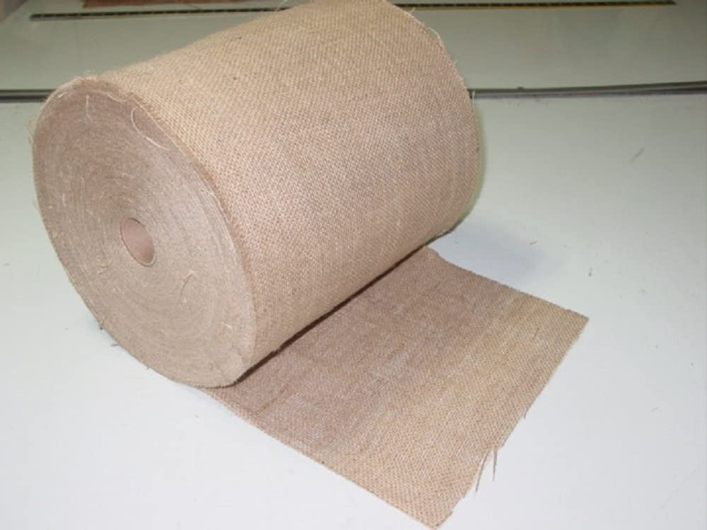 Limited time cheap sale Regular store 24 inch wide 10 oz 100 Burlap Roll yards