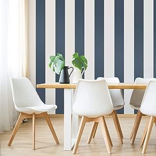 Tempaper Compass Mini Stripe | Designer Removable Peel and Stick Wallpaper