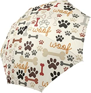 umbrella dog print