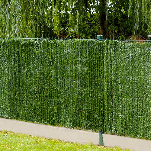 Gardenode - Seto Artificial (Rollo de 3 m, 90 hebras): Amazon.es: Jardín