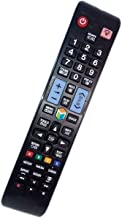Replaced Remote Control Compatible for Samsung UN40EH6030F AA59-00579A UN50ES7100 PN64E8000GFXZA UN55ES6550F LED HDTV TV