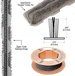 Zipper Pile Weatherstrip .270