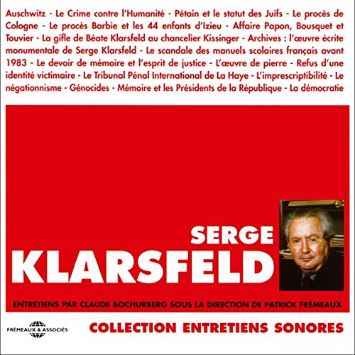 Serge Klarsfeld audiobook cover art
