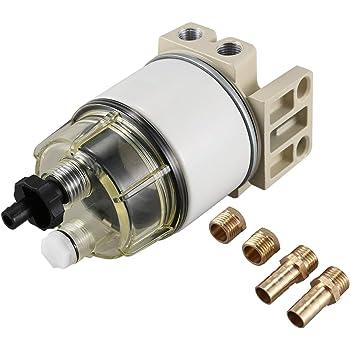 R12T Kraftstoff- // Wasser Abscheider Filter Motor für 40R 120AT S3240 NPT Y2 2X