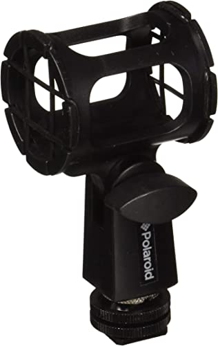 discount Polaroid Microphone Shock Mount With Dual Mount design discount (Shoe Mount, 1/4 high quality 20, 3/8) sale