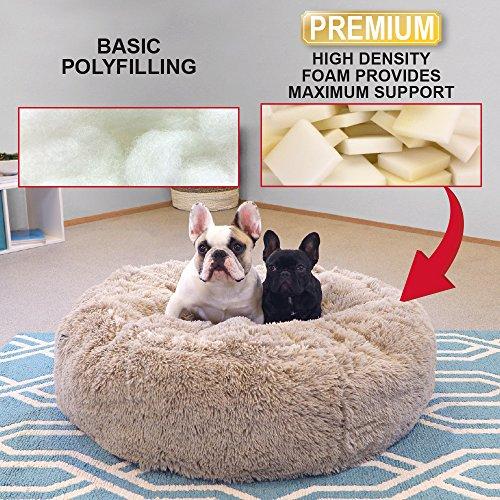 SportPet Designs Large Luxury Waterproof Pet Bed - Machine Washable Sofa Bed