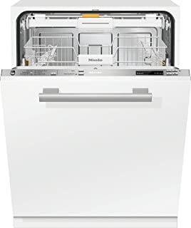 Miele G 6360 SCVi Totalmente integrado 14cubiertos A+++ lavavajilla - Lavavajillas (Totalmente integrado, White,Not applicable, Tamaño completo (60 cm), Acero inoxidable, Botones, 1,7 m)