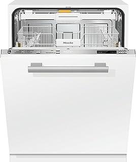 Miele G 6360 SCVi Totalmente integrado 14cubiertos A+++ lavavajilla - Lavavajillas (Totalmente integrado, White,Not applicable, Tamaño completo (60 cm), Acero inoxidable, Botones, 1,7 m)