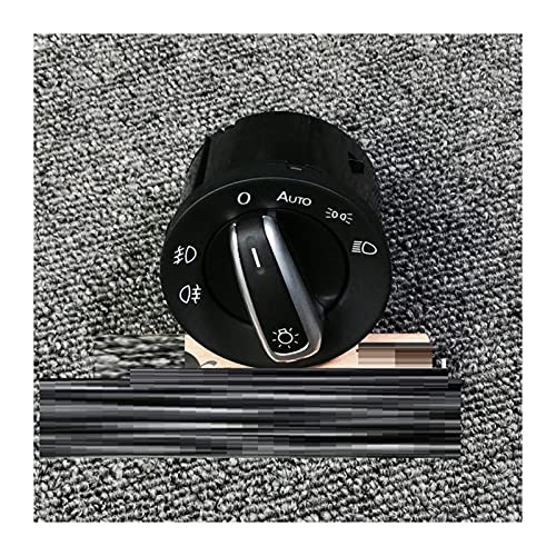 Shenghao Yige Store 5ND941431B 5ND941431B Faro de la luz de Niebla de la lámpara de antaño Control para VW Golf Jetta MK5 MK6 Tiguan Passat B6 2004-2007 2009