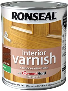 Best ronseal varnish medium oak Reviews