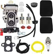 Hayskill WYA-79 Carburetor w Tune Up Kit for Husqvarna 350BT 150BT RedMax Red Max EBZ8500 EBZ8500RH EBZ8000 EBZ8000RH EBZ8001 EBZ8001RH EBZ8050 EBZ8050RH Backpack Leaf Blower Carb