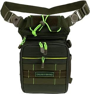 Bolsa De Señuelo De Pesca Multifunción Cintura Pierna Caña De Pescar Tackle Bag
