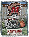 Maryland Terrapins 'Home Field Advantage' Woven Tapestry Throw Blanket, 48' x 60'