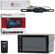 Pioneer AVH-G215BT Car Audio Double Din 2DIN 6.2 Touchscreen DVD MP3 CD Stereo Built-in Bluetooth with DiscountCentralOnline HL09 Waterproof Nightvision Back-up Camera