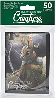 Star City Games Creature Collection Double Matte MTG Card Game Sleeves 50 ct. Pack - Bramblehopper Elite