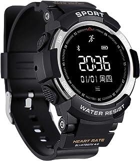 Reloj Deportivo, Reloj Deportivo Reloj en Marcha pulsómetro Bluetooth GPS IP68 Resistente al Agua, la detección del sueño Reloj de los Hombres Compatible con iOS