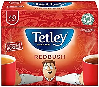 Tetley Redbush Tea - 40 per pack