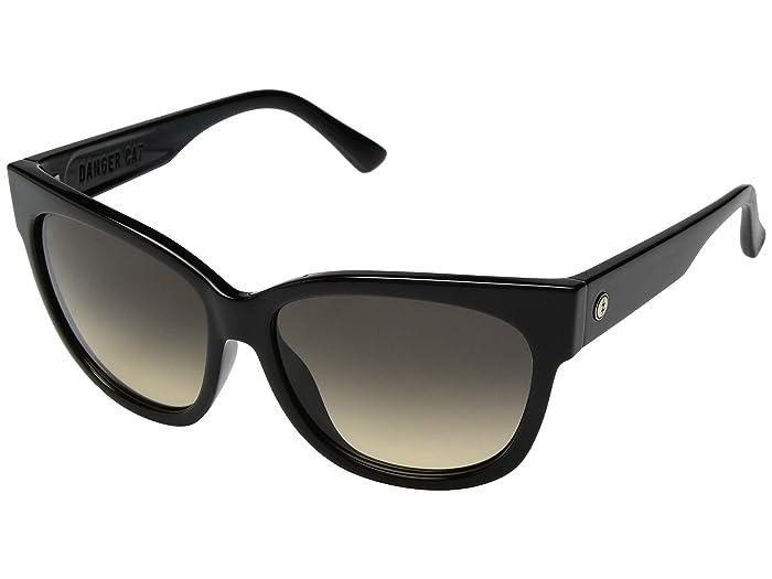 Danger Cat (Gloss Black/Ohm Black Gradient) Fashion Sunglasses