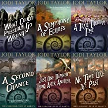 Jodi Taylor The Chronicles of St. Mary's Series 6 Books Bundle Collection (No Time Like the Past, Just One Damned Thing Af...