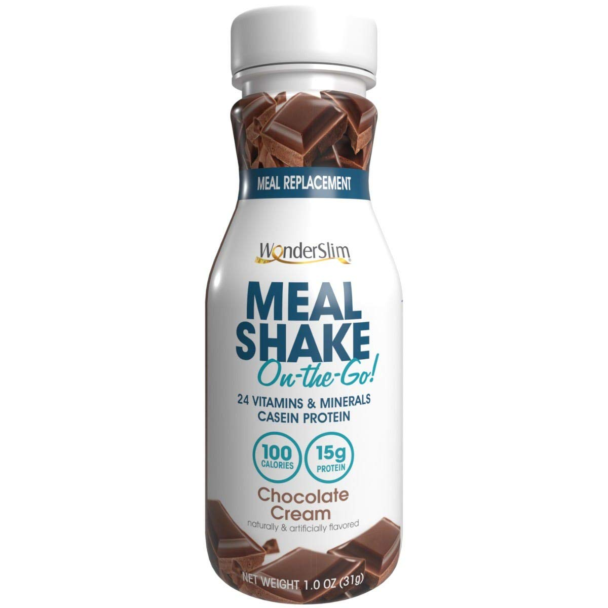 WonderSlim On-the-Go Protein Meal C Chocolate Easy-to-use Gorgeous Replacement Shake
