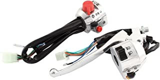 "uxcell Pair 7/8"" Handlebar Turn Signal Electrical Start Switch for Motorcycle CM"