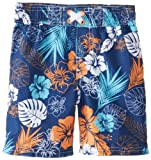 IXtreme Baby Boys' Hibiscus Print Short, Lime, 12 Months
