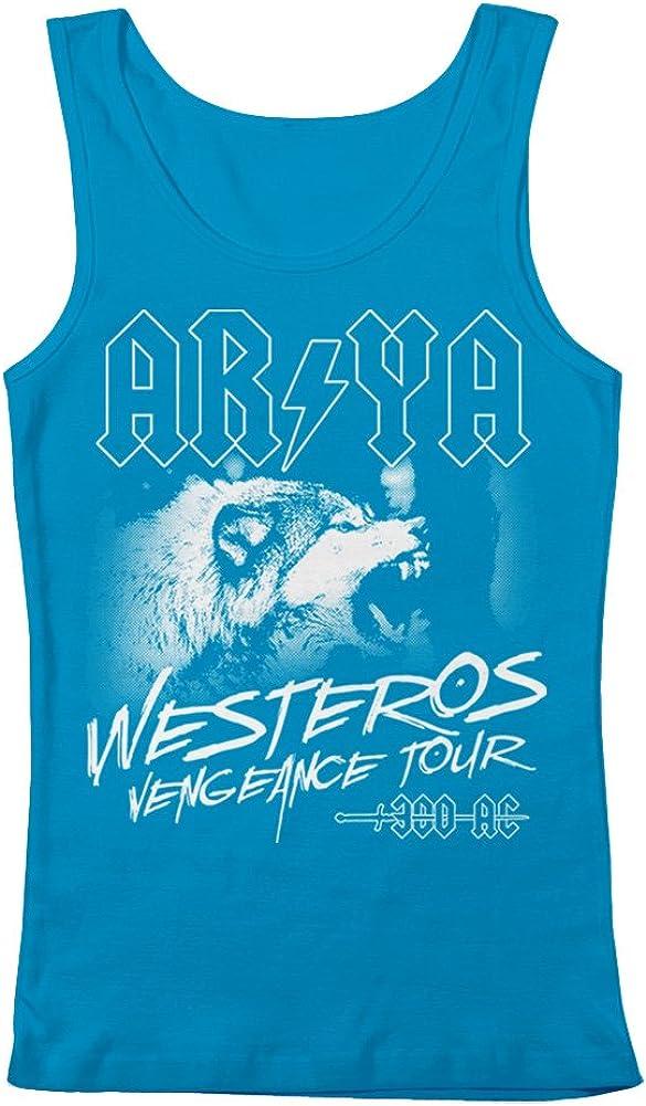 GEEK TEEZ Industry No. 1 Arya Westeros Vengeance Women's store Tank Tour Top