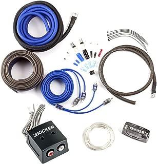 Kicker CK4 4-Gauge Amplifier Kit with KISLOC Line Output Converter for Factory Radio Integration