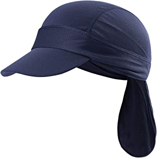 FakeFace Sports Headwear Quickly Dry Sun UV Protection Skull Cap Under Helmet
