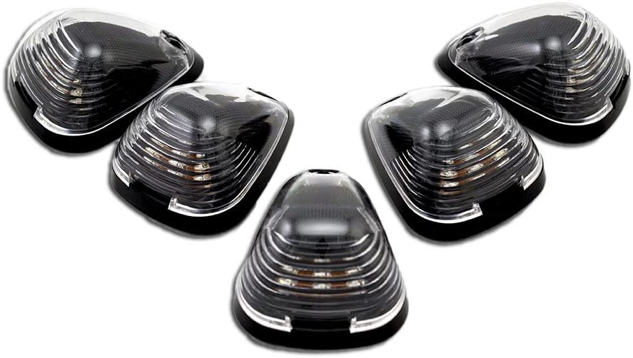 SALENEW very Tucson Mall popular VMS Racing CAB ROOF Lights Markers 5 i pc Covers Base with Piece