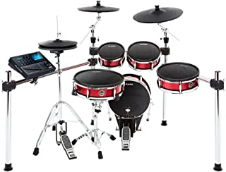 Alesis Strike Kit | Eight-Piece Professional Electronic Drum Kit with Adjustable Mesh Heads, 110 kits and over 1600 multi-sampled instruments
