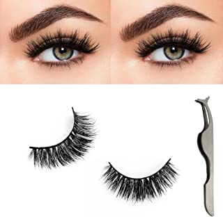 22dd1dfe0fa Vanalia Eco-Friendly 3D False Lashes Strip Hand-made 100% Reusable Fake  Eyelash