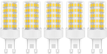 5X G9 LED Lampen 10W Dimbaar LED Lamp 86 SMD 2835LEDs Warmwit 3000K LED Verlichting Hoge Helderheid 900LM AC220V-240V