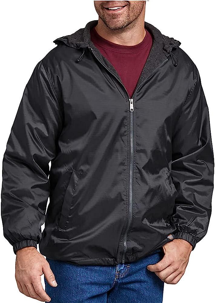 Dickies Men's Fleece-Lined Hooded New Store sales Jacket