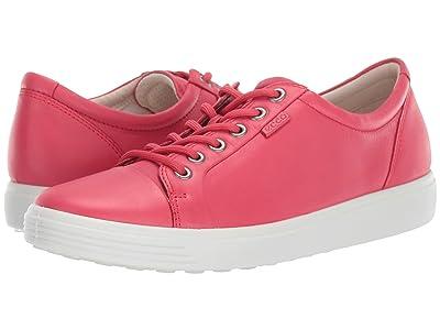 ECCO Soft 7 Sneaker (Teaberry) Women