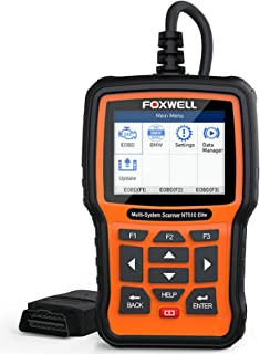 NT510 Elite Full System OBD OBD2 ماسح ضوئي ABS SRS وسادة هوائية SAS في EPB DPF إعادة ضبط زيت تسجيل البطارية سيارة أداة تشخ...