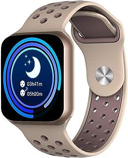 Geundampa Smartwatch Reloj Inteligente IP67 Impermeable con Pulsómetro, Monitor de Sueño, 1.3 Pantalla Táctil Reloj Inteligente para Mujer Hombre