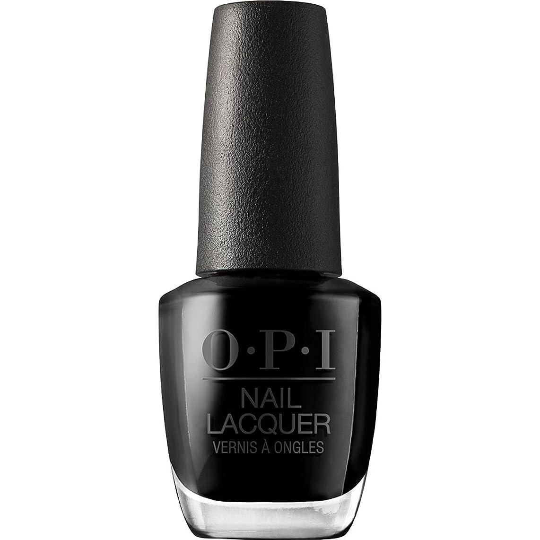 階段誓い常習的OPI(オーピーアイ) NLT02 ブラック オニキス