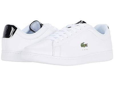 Lacoste Carnaby Evo 220 1 (White/Black) Men
